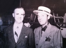 Bergin and Bing Crosby at Del Mar in 1937