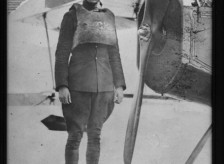 Tom Bergin serving in WWI as a naval aviator. He was one of the very first ever. Pilot #232