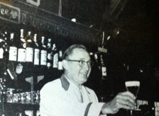 Jake Ohlsen - GM of Bergin's and with Tom since it opened in '36, serving our world famous Irish Coffee